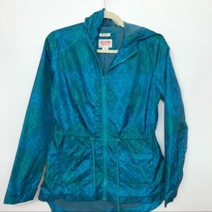 Mossimo Supply Co water proof blue Jacket B7 0317